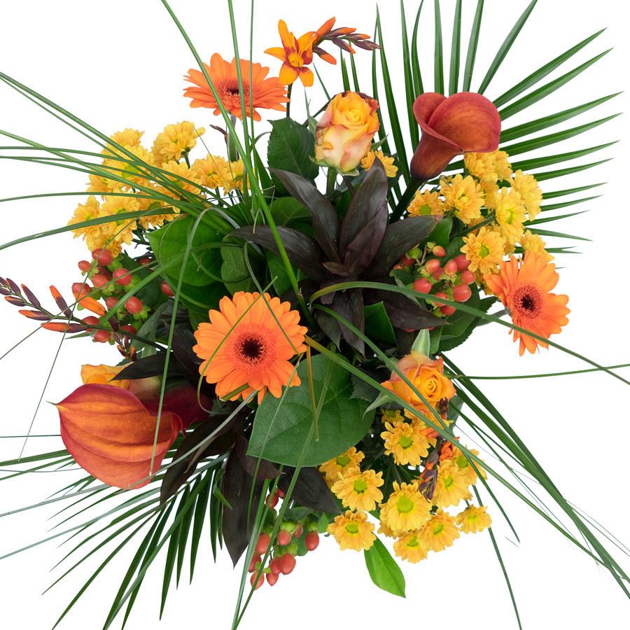 bloemen-boeket-oranje